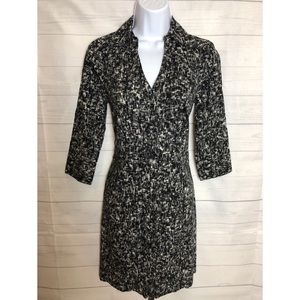 Express Womens Black and white Summer Dress